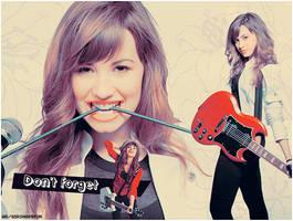Demi Lovato by SakuraDG