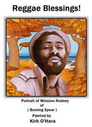 Kirk O'Hara portrait of Winston Rodney 1 by Paintmouth