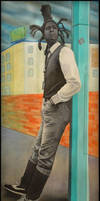Portrait Of David Hinds by Paintmouth