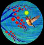 Hummingbird by Paintmouth