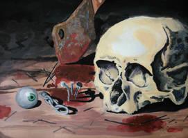 Skull by StripedHenchman