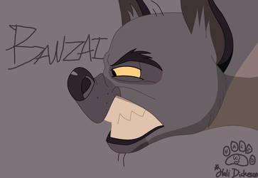 Banzai Hyena by TheEccentricCitric