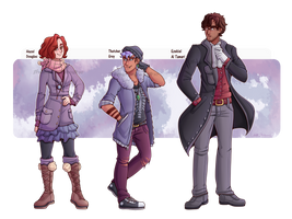 (1/5) Legacy Cast by TheEccentricCitric