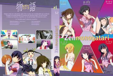 Monogatari Series DVD 5 Cover by anouet