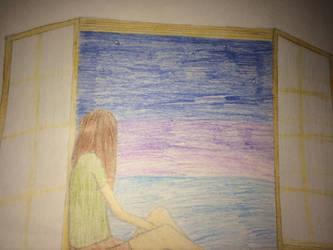 Willow in a window by KorudoAmari
