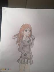 Attempt at anime... by KorudoAmari