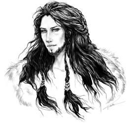 'The Hobbit' fanart: Dis by Kotorigaro