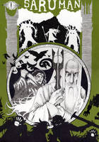 Poster - Saruman by greyflea