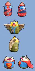 Themed Gubs by greyflea