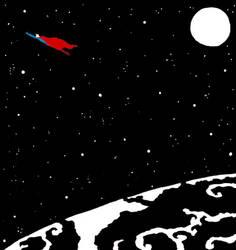 Superman's Flight by greyflea