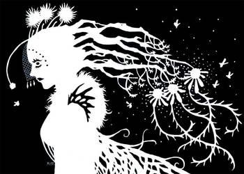 Lady of Pollen by greyflea