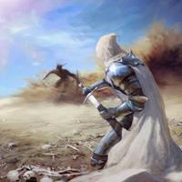 Desert spirit. sktch by Vulpes-Ibculta