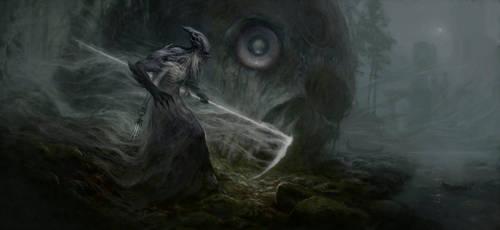 Fog stalker by Vulpes-Ibculta