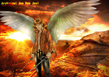 50 Shades of Bon Jovi Archangel by beckpage