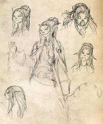 Shifter Sketches by JRinaldi