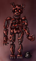 Nightmare Freddy Original Design by Kana-The-Drifter
