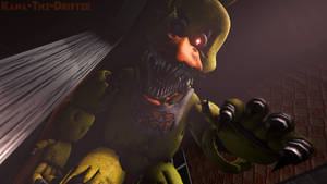 No Escape From Chica! [4K SFM Wallpaper] by Kana-The-Drifter