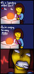 It's never ogre (Undertale comic) by Kana-The-Drifter
