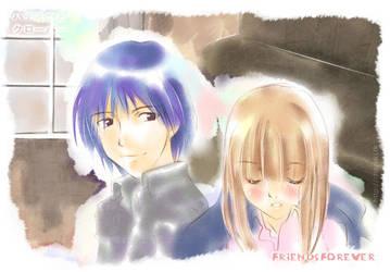 Morita+Ayumi~Honey and Clover by chayuki