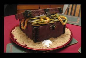 Pirate cake by pessimistic-orange