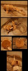 Leather Vasculum by pessimistic-orange