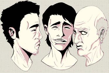 Talking Heads Part Deux by Bane-Halation