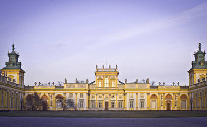 Wilanow Palace by Cyberchilds