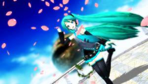 New Project Diva Miku by vocaloidandlegolover