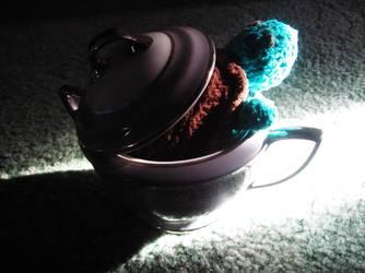 NaNo Turtle in the Sugar Bowl by MakaniKairen