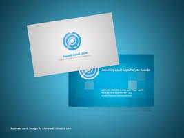 Business card - O F I by StarAlBaraka