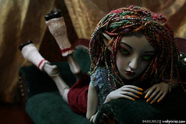 Lounging Lenore 5 by pervyfaerie