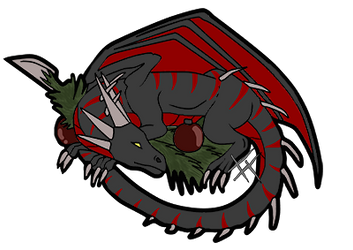 Taranth sleeping[Gift] by RavenGuardian13