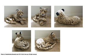 - Cheetah Plush - by BeachBumDunkin