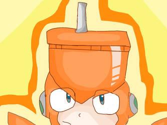 DWN-021 Top Man [Megaman] by DoughnutDoggie
