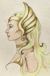 She-Ra Sketch by Colleen80
