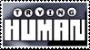 Trying Human logo stamp by Eloarei