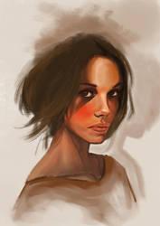 Warm brown by Julien-Bernard