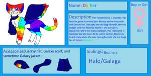 Dasher Reference by DasherGalaxyCat