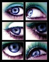 eye series - 2 - coloured by schmusestinki