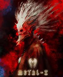 Skull King - Hard Metal by vicky3