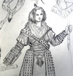 Character Sketch by vicky3