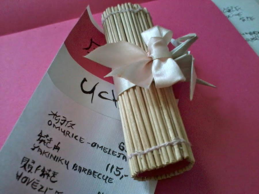 uchi fake restaurant menu and cover by yuccuska on deviantart