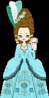 Georgiana, duchess of Devonshire by marasop