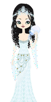 Snow White as a Mermaid from Once Upon a Time by marasop