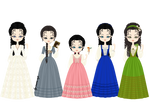 Wildwood Dancing Girls by marasop
