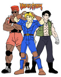 Boris, Wade, and Kyle - Forgotten Heroes of Gaming by MrMadMouth