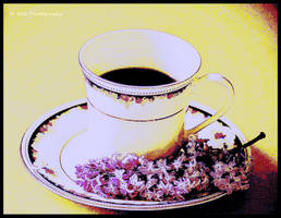 Lilacs And Tea by erbphotography