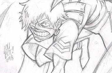 Tokyo Ghoul WIP by LoubotMarquez