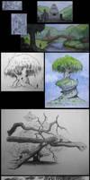 Trees and stuff by larkin2