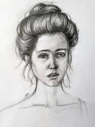 Portrait by alhaddad1